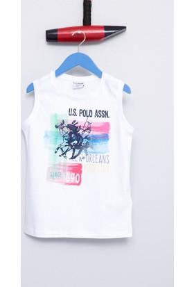 U.S. Polo Assn. Erkek Çocuk Hector T-Shirt Beyaz