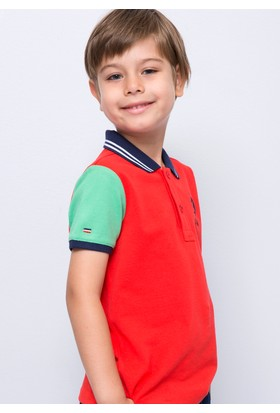U.S. Polo Assn. Erkek Çocuk Noble T-Shirt Kırmızı