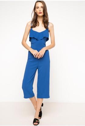 DeFacto Kadın Trend Tulum Mavi
