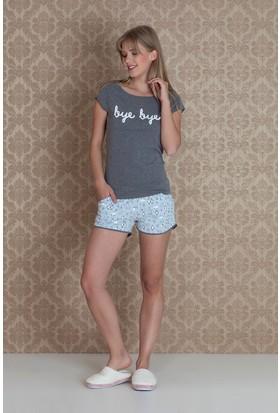 Hays Norda Kadın Şortlu Pijama Takım