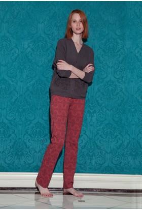 Hays Roma Kadın Önden Düğmeli Pijama Takımı