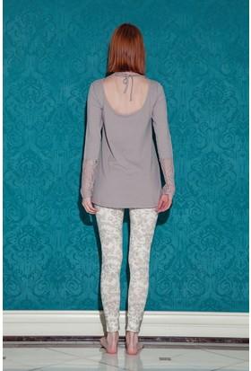Hays Bloom Kadın 2'li Uzun Kollu Pijama Takımı