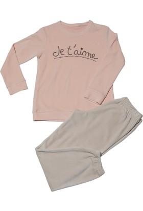 Hays Kids Kız Çocuk Kadife 2'li Pijama Takımı