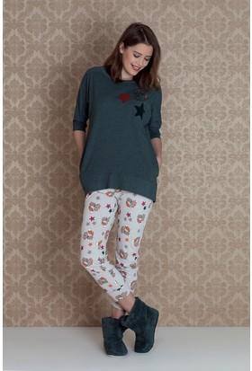 Hays Stellina Kadın Midi Pijama Takımı