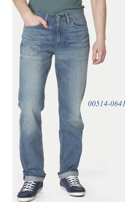 Levis 514 Erkek Straight Fit Jeans 00514-0641 Lıght Stonewash