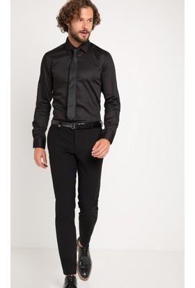 Pierre Cardin Erkek A49020/P Pantolon Siyah