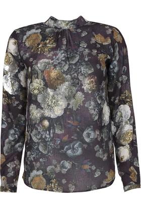 Sateen Kadın Bluz 1011501