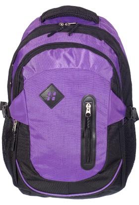 Hi-Bag Sırt Çantası HCSRT220 Mor