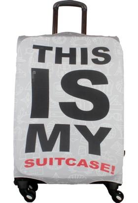 My Saraciye Valiz Kılıfı Kabin Boy İçin Klf My Suitcase S