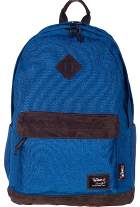 Young Kumaş Sırt Çantası YG51061 Mavi