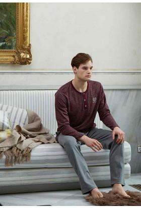 Feyza 3100 Jakarlı Erkek Pijama Takımı