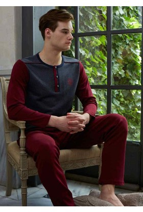 Feyza 3103 Jakarlı Erkek Pijama Takımı