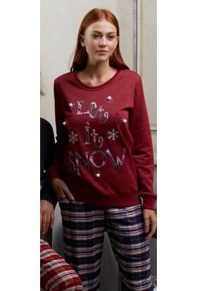 Feyza 3139 Sevgili Kombini Kadın Pijama Takımı