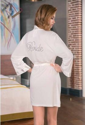 Yeni İnci BPJ172 Bride Gelin Sabahlık