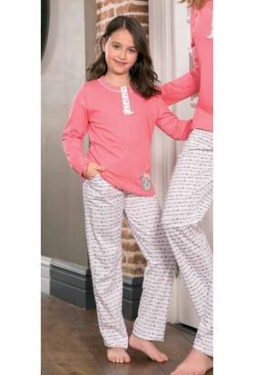 Yeni İnci CPK290 Süprem Kız Çocuk Uzun Kollu Pijama Takımı