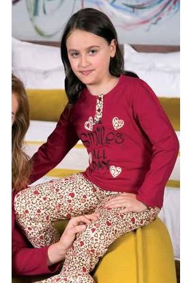 Yeni İnci CPK298 Süprem Kız Çocuk Uzun Kollu Pijama Takımı