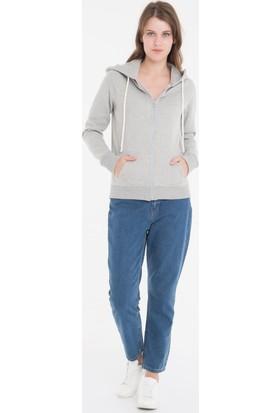 Collezione Kadın Sweatshirt Yogaa Gri Melanj