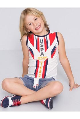 U.S. Polo Assn. Erkek Çocuk Claud Atlet Bej