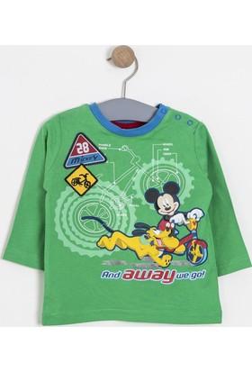 Soobe Erkek Çocuk Uzun Kol T-Shirt Yeşil