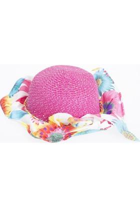 Soobe Kız Çocuk Hasır Şapka