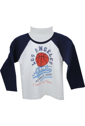 Zeyland Erkek Çocuk Beyaz Sweat Shirt 72Kl1967