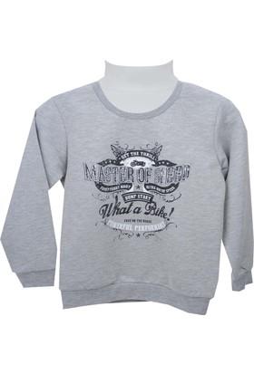 Zeyland Erkek Çocuk Gri Melanj Sweat Shirt 72Kl1968