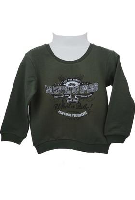 Zeyland Erkek Çocuk Haki Yeşil Sweat Shirt 72Kl3968