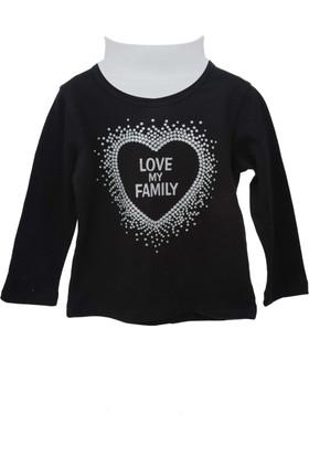 Zeyland Kız Çocuk Siyah Sweat Shirt 72Kl4862
