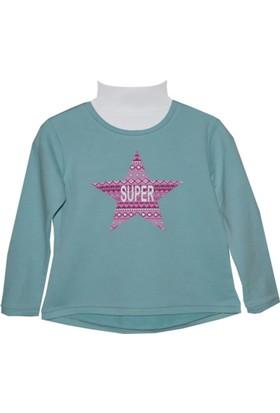 Zeyland Kız Çocuk Mavi Sweat Shirt 72Kl4867