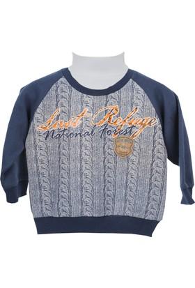 Zeyland Erkek Çocuk Füme Sweat Shirt 72M1Bzf65
