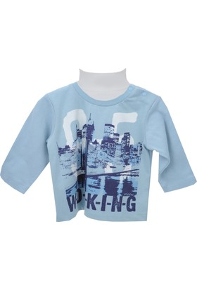 Zeyland Erkek Çocuk Mavi Sweat Shirt 72M1Nvk61