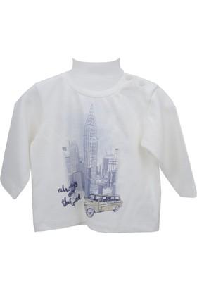Zeyland Erkek Çocuk Ekru Sweat Shirt 72M1Nvk62