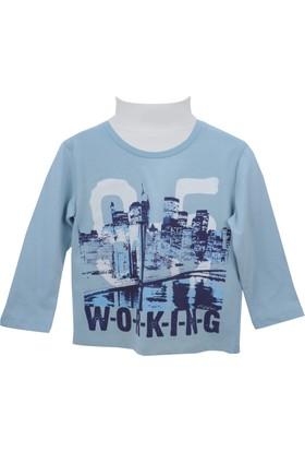 Zeyland Erkek Çocuk Mavi Sweat Shirt 72M3Cvk61