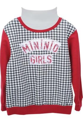 Zeyland Kız Çocuk Bordo Sweat Shirt 72M4Brz65
