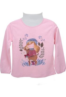 Zeyland Kız Çocuk Pembe Bluz 72M4Dcr61