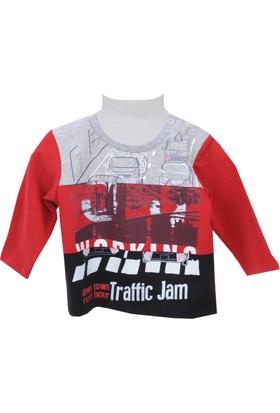 Zeyland Erkek Çocuk Kırmızı Sweat Shirt 72Z1Asf61