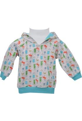Zeyland Erkek Çocuk Desenli Sweat Shirt 72Z1Bap61