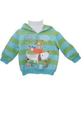 Zeyland Erkek Çocuk Desenli Sweat Shirt 72Z1Bap65