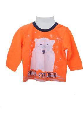 Zeyland Erkek Çocuk Turuncu Sweat Shirt 72Z1Oza61