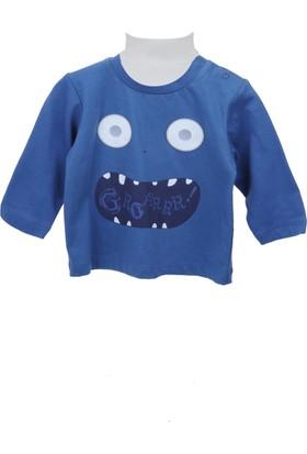 Zeyland Erkek Çocuk Mavi Sweat Shirt 72Z1Oza63