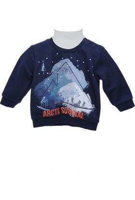 Zeyland Erkek Çocuk Lacivert Sweat Shirt 72Z1Oza64