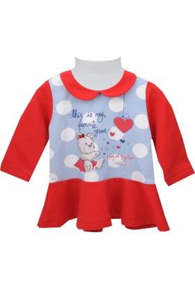 Zeyland Kız Çocuk Kırmızı Elbise 72Z2Imc36