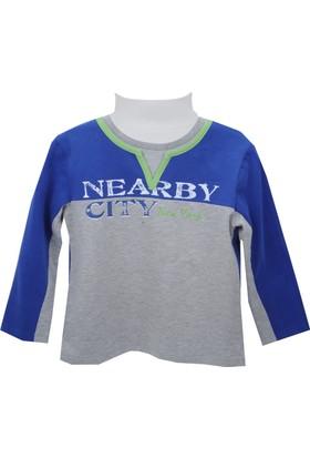 Zeyland Erkek Çocuk Saks Sweat Shirt 72Z3Lab62