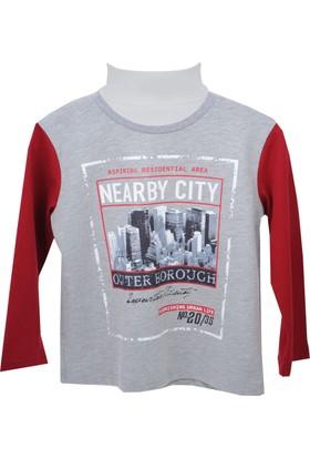 Zeyland Erkek Çocuk Gri Melanj Sweat Shirt 72Z3Ykz62