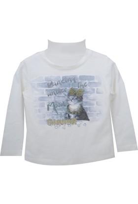 Zeyland Kız Çocuk Ekru Sweat Shirt 72Z4Eva64