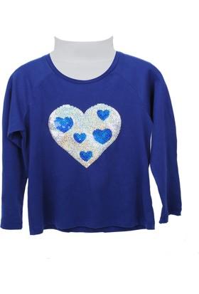 Zeyland Kız Çocuk Saks Sweat Shirt 72Z4Ole63