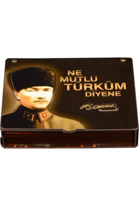 Modaroma K.Atatürk 3D Mdf Özel Tasarım Set