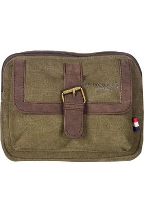 U.S. Polo Assn. Çapraz Çanta Plevre7129 Haki
