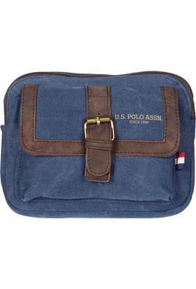 U.S. Polo Assn. Çapraz Çanta Plevre7143 Lacivert