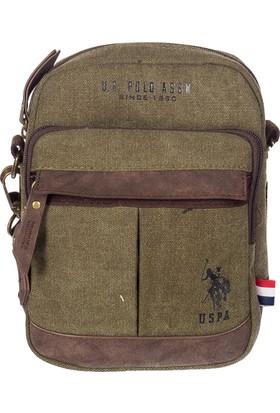 U.S. Polo Assn. Çapraz Çanta Plevrg7136 Haki